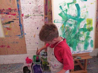 kh2_kinderkunstprojekt abstrakter expressionismus_07