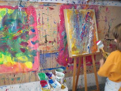 kh2_kinderkunstprojekt abstrakter expressionismus_10