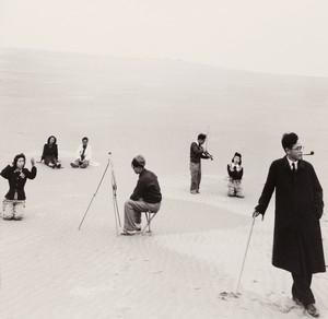 "Shoji Ueda, aus der Serie ""Sand Dunes"", 1952 ©Shoji Ueda Office"