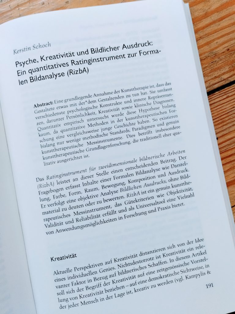 Blick ins Buch Zur Psychodynamik kreativen Gestaltens